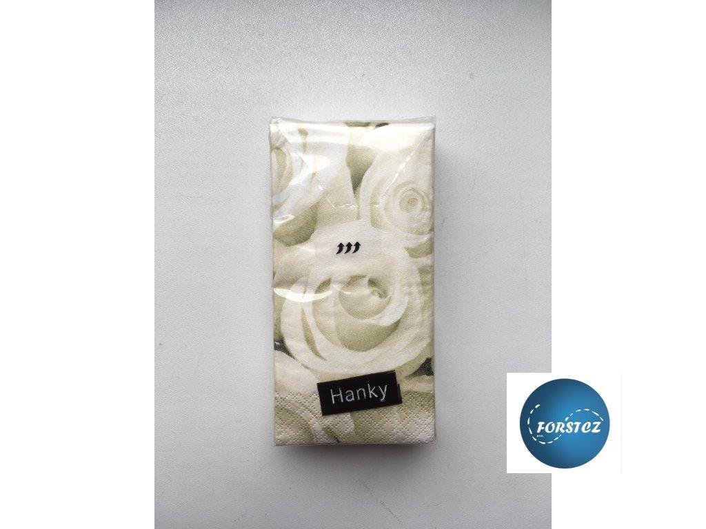 Svatební papírové kapesníčky - WEDDING ROSE