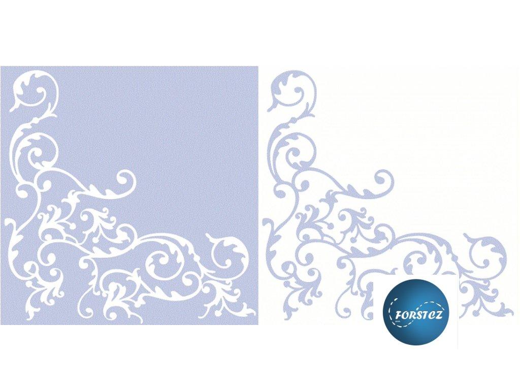 Airlaid ubrousky POMP - Silver-white/Gold-white/Gold-creme/Blue-white/Pink-white/Bordeaux-creme/Creme-mocca - 50 ks 40x40 cm